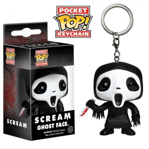 Funko Pocket Pop Keychain Scream Ghostface