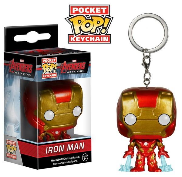 Funko Pocket Pop Keychain Iron Man
