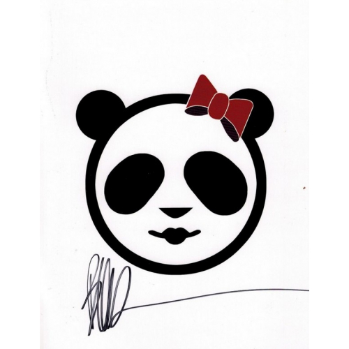Panda Girl Assassin Sketchbook - Joe Benitez - San Diego 2017 - signé