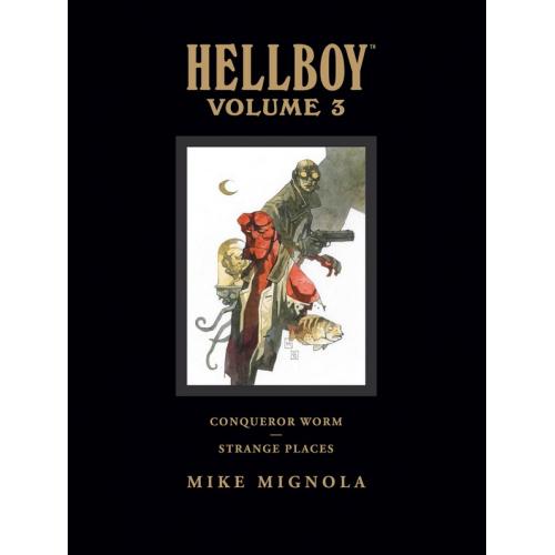 HELLBOY LIBRARY HC VOL 03 CONQUEROR WORM (VO)