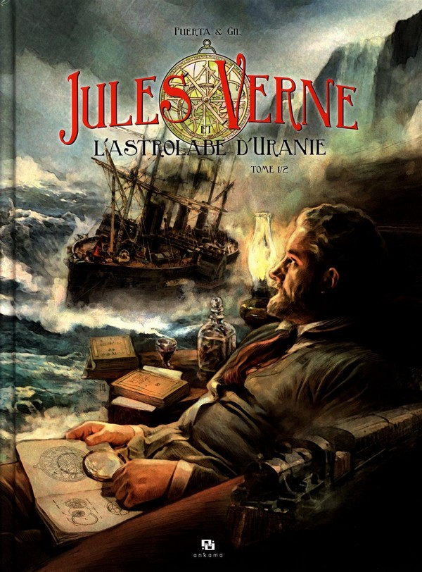 Jules Verne et l'astrolabe d'Urane Tome 1 (VF)