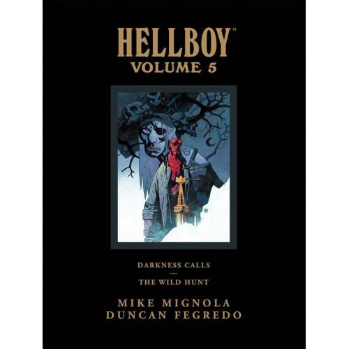 HELLBOY LIBRARY HC VOL 05 DARKNESS CALLS WILD HUNT (VO)