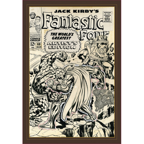 JACK KIRBY FANTASTIC FOUR WORLS GREATEST ARTIST ED HC (VO)