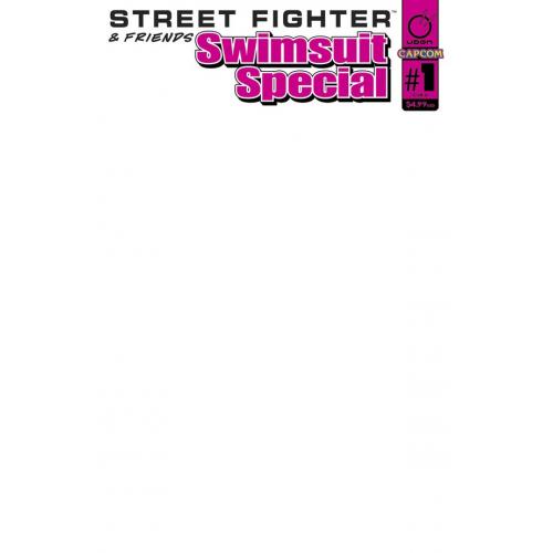 STREET FIGHTER SWIMSUIT SPECIAL 2017 CVR D BLANK SKETCH (VO)