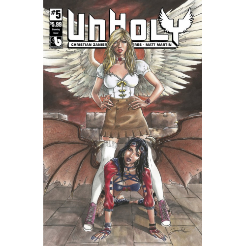 Unholy 5 Stunning Cover (VO)