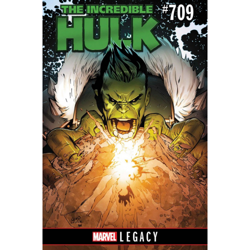 INCREDIBLE HULK 709 LEG (VO)