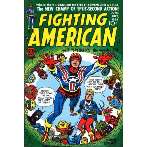 Fighting American 1 (VO) Terry Dodson Cover