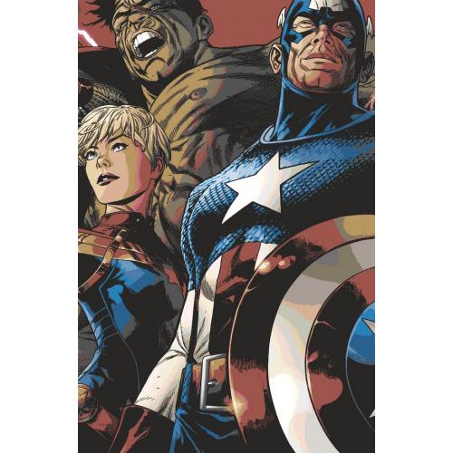 Marvel Legacy 1 Quesada Lenticular Cover (VO)