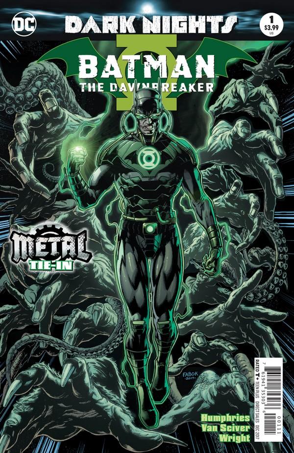 Batman : The Murder Machine 1 (VO) - METAL