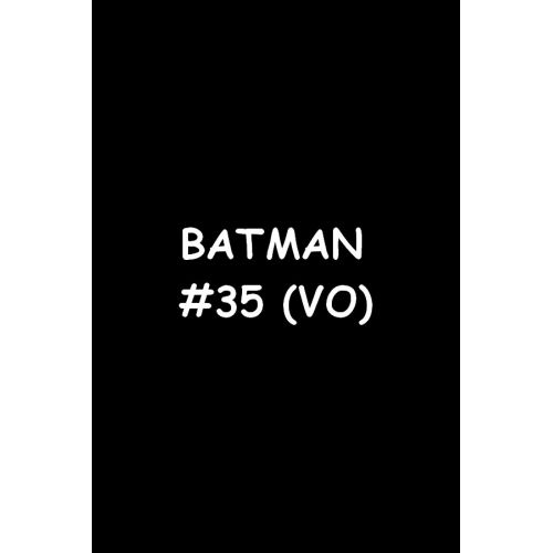 Batman 35 (VO)