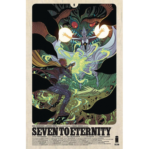 Seven to Eternity 9 Cover B Moore (VO)