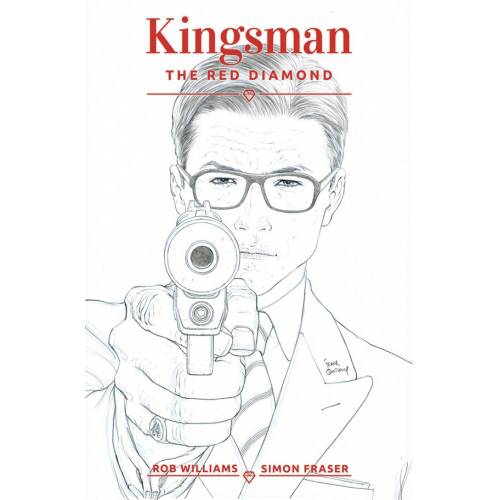 KINGSMAN: THE RED DIAMOND 1 Cover B Quitely B&W (VO)