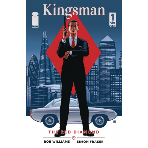 KINGSMAN: THE RED DIAMOND 1 Cover C Gibbons (VO)