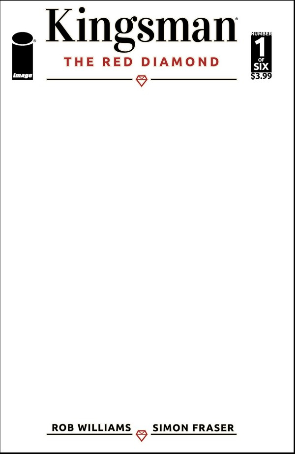 KINGSMAN: THE RED DIAMOND 1 Cover F Blank Sketch (VO)