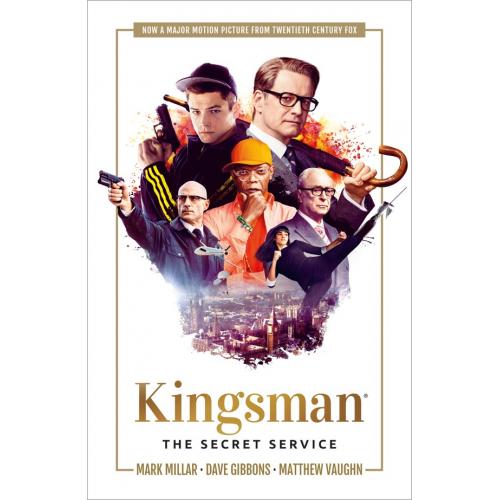 KINGSMAN SECRET SERVICE TP CVR B MOVIE (VO)