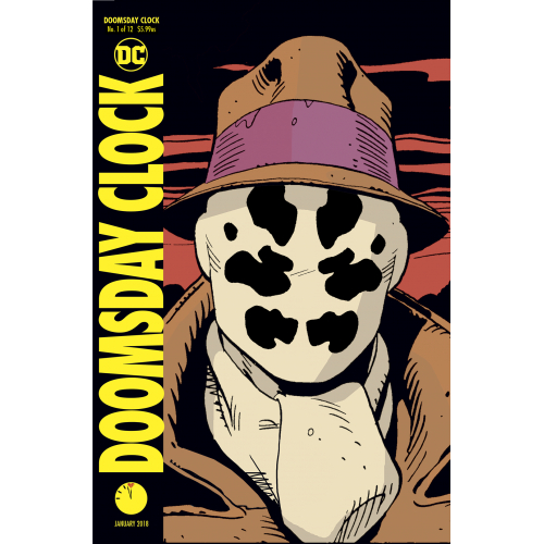 DOOMSDAY CLOCK 1 (VO) Lenticular Cover