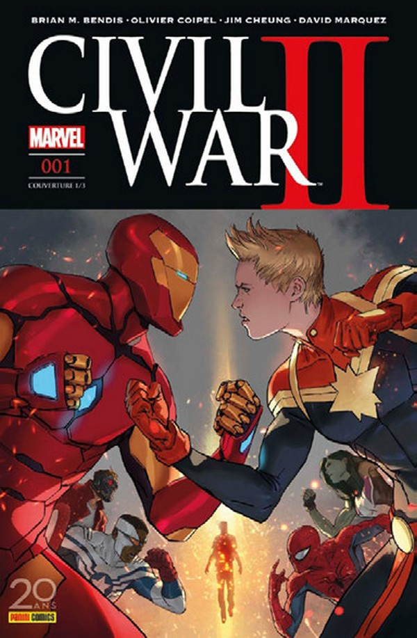 Civil War II - Édition Deluxe (VF)