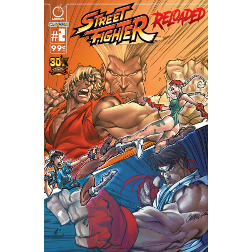 STREET FIGHTER RELOADED 2 (VO) J. Scott Campbell