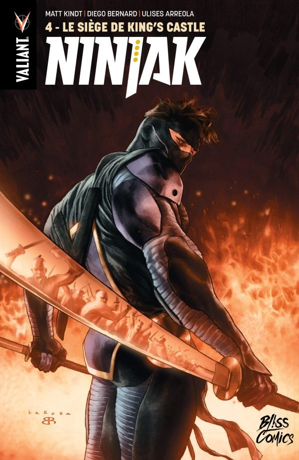 Ninjak Tome 4 (VF)