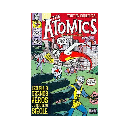 THE ATOMICS 1 (VF) MIKE ALLRED