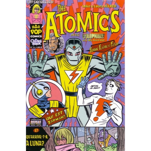 THE ATOMICS 2 (VF) MIKE ALLRED