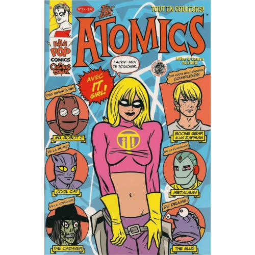 THE ATOMICS 3 A (VF) MIKE ALLRED