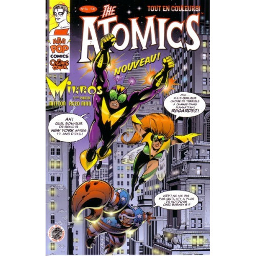 THE ATOMICS 3 B (VF) MIKE ALLRED
