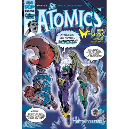 THE ATOMICS 4 B (VF) MIKE ALLRED