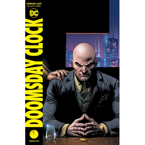 DOOMSDAY CLOCK 2 (VO) VARIANT COVER
