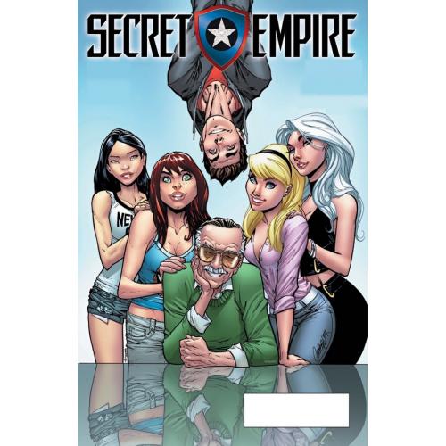 Secret Empire n°1 (VF) Couverture Collector Humberto Ramos & J. Scott Campbell Original Comics 501 exemplaires - GOLD