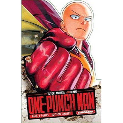 Coffret One-Punch Man Tomes 1 à 3 (VF)