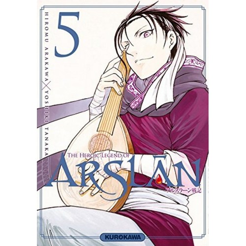 The Heroic Legend of Arslân Tome 4 (VF)
