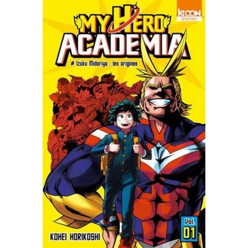 Coffret My Hero Academia Saison 1 (VF)