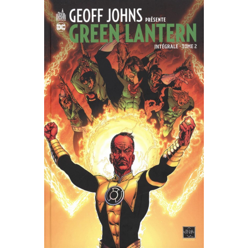 Geoff Johns présente Green Lantern Intégrale Tome 2 (VF)