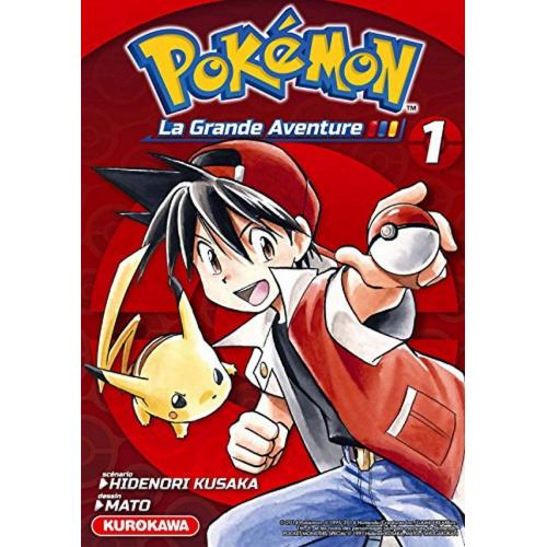 Coffret Pokemon La Grande Aventure Tome 1 à 3 + Guide (VF)