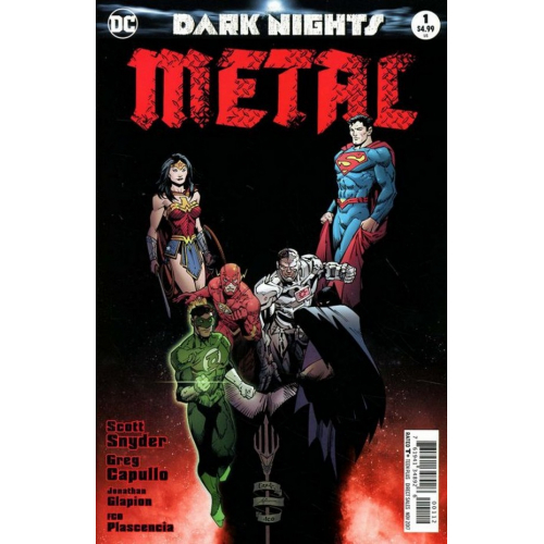 DARK NIGHTS : METAL 1-2ND PRINT (VO)
