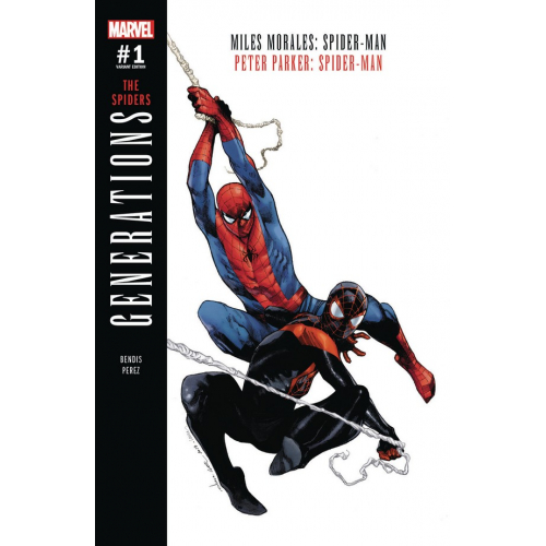 Generations : Miles Morales Spider-Man & Peter Parker Spider-Man Coipel Variant (VO)