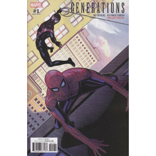 Generations : Miles Morales Spider-Man & Peter Parker Spider-Man Sprouse Variant (VO)