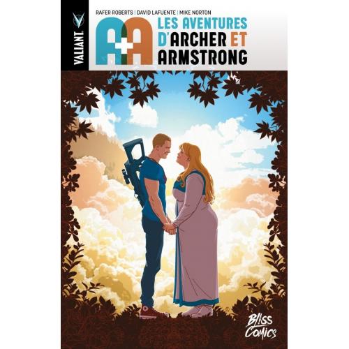 Signé : A + A : les aventures d'Archer et Armstrong - Edition Collector Original Comics 250 ex Signé par David Lafuente (VF)