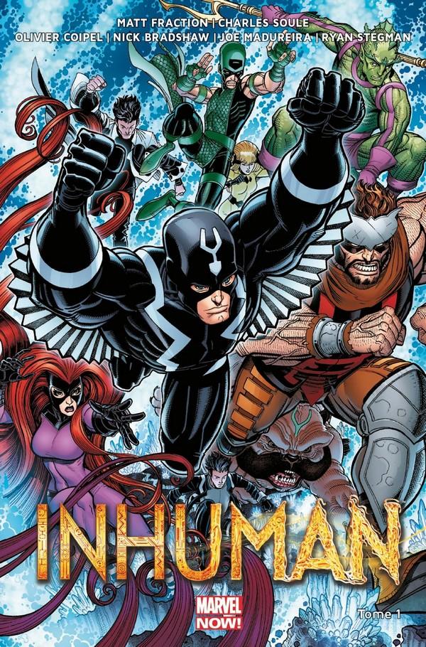 Uncanny Inhumans Tome 1 (VF)