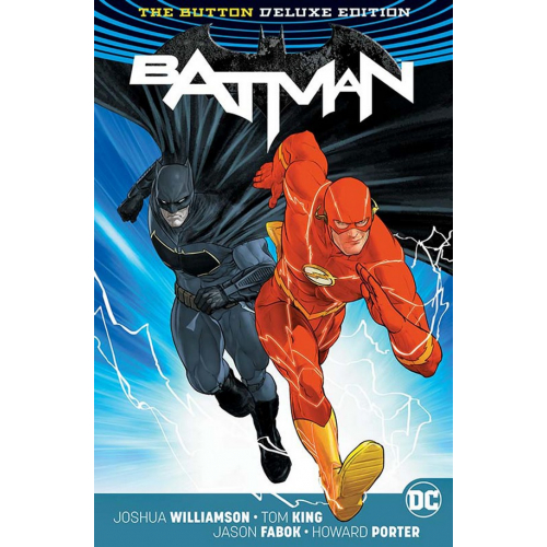 BATMAN / THE FLASH : THE BUTTON DELUXE EDITION HC