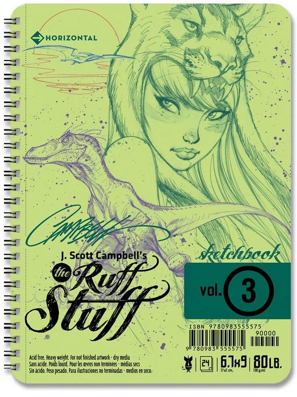 J.Scott Campbell's Ruff Stuff Sketchbook 2