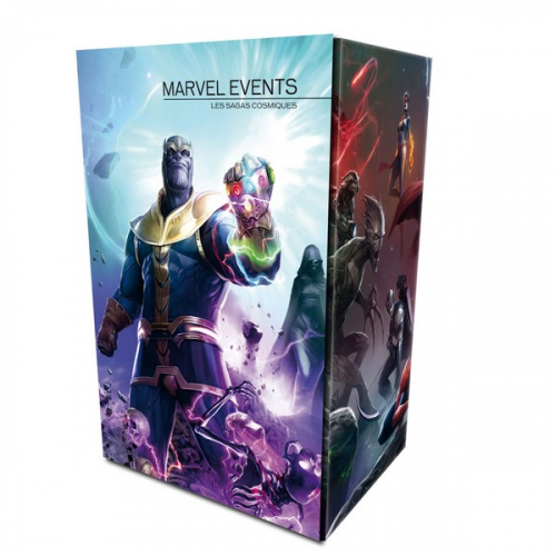 Coffret Marvel Events : les Sagas Cosmiques (VF)
