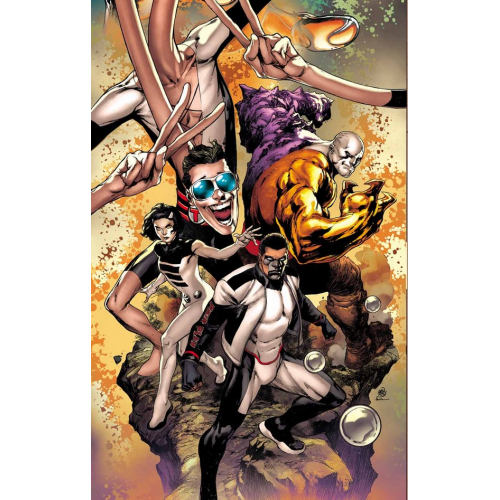 THE TERRIFICS 1 (VO) IVAN REIS - NEW AGE OF DC HEROES