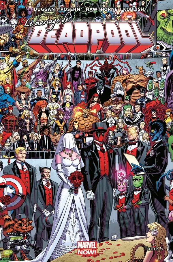Deadpool Marvel Now Tome 5 (VF)