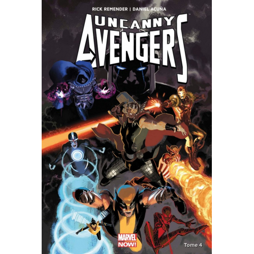 Uncanny Avengers Tome 4 (VF)