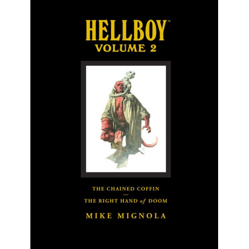 HELLBOY LIBRARY HC VOL 02 CHAINED COFFIN (VO)