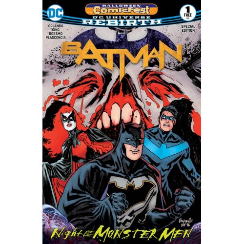 HCF 2017 BATMAN NIGHT OF THE MONSTER MEN SPEC ED 5 (VO)