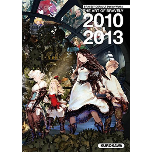 Bravely Default Design Works - the Art of Bravely 2010-2013 (VF)