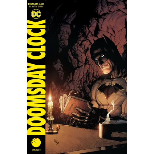 DOOMSDAY CLOCK 3 VARIANT COVER (VO)